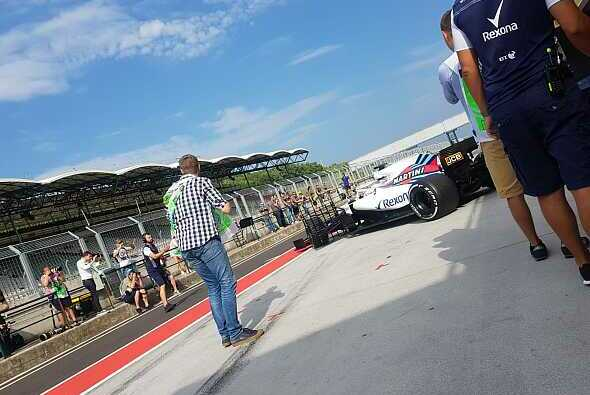 Christian followed on the exit of Kubica. Photo: Motorsport-Magazin.com