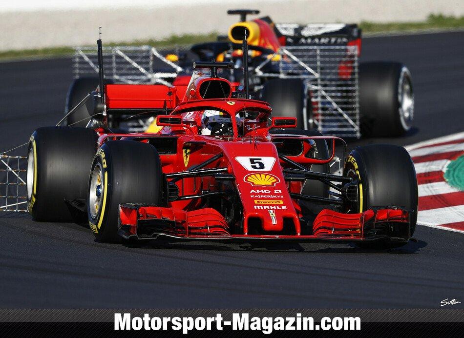 Formel-1-Tests: Ricciardo zunächst vor Hamilton und