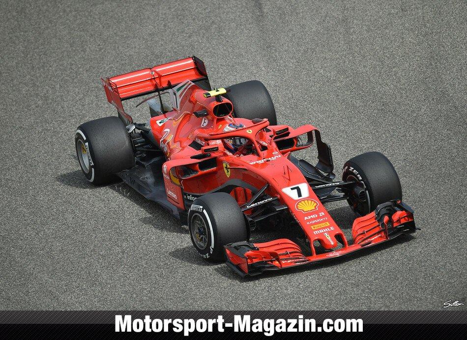 Ferrari-Drama: Räikkönen fährt Mechaniker um