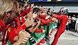 Italien GP - Formel 1 Monza - Presse: Ferrari-Gott Leclerc, Rentner Vettel - Formel 1 2019, Bilderserie, Bild: LAT Images