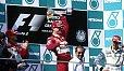 Michael Schumacher musste Ferrari-Teamkollege Eddie Irvine 1999 in Malaysia den Sieg überlassen - Foto: Sutton