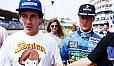 Ayrton Senna und Michael Schumacher gehören zu unseren Top-Five - Foto: Sutton