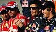 Sebastian Vettel und seine Rivalen kämpfen auch 2011 um die F1-Krone - Foto: Sutton