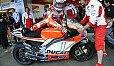 Nicky Haydens Reifen wollen nicht arbeiten - Foto: Ducati