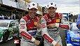 Jubeln die Rosberg-Fahrer auch nach dem Rennen in Valencia? - Foto: Audi