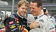 Formel-1-Teamchef Maurizio Arrivabene sieht Sebastian Vettel wie Michael Schumacher als Ferrari-Weltmeister - Foto: Sutton