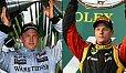 Siegreich im McLaren & Lotus: Kimi Räikkönen - Foto: Sutton