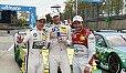 Schnelle Marathon-Männer: Farfus, Tomczyk, Rockenfeller - Foto: DTM