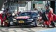 Die Audi-Crew montierte gegen Scheiders Willen Trockenreifen - Foto: Simninja Photodesignagentur