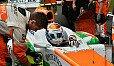 Adrian Sutil ist happy mit seiner und der Performance des Teams - Foto: Sutton
