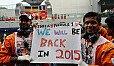 Ein paar Anhänger hat der Indien GP schon gefunden - Foto: Sutton