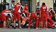 Der Service an der Ferrari-Box war am schnellsten - Foto: Sutton