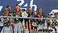 Audi setzte sich einmal mehr die Le-Mans-Krone auf - Foto: Speedpictures
