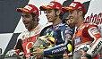 In Silverstone schafften es gleich zwei Ducatis aufs Podium - Foto: Milagro