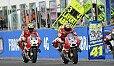 Dovizioso und Iannone rechnen nicht damit, dass ihnen ihr Armpump in Misano gefährlich werden könnte - Foto: Ducati