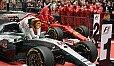Der Kampf zwischen Lewis Hamilton und Sebastian Vettel geht in Bahrain weiter - Foto: Mercedes-Benz