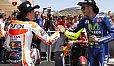 Rossi und Marquez hatten in Austin Grund zum Jubeln - Foto: Repsol