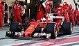 Sebastian Vettel fuhr in Russland von Pole auf Platz zwei - Foto: Sutton
