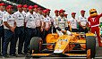 Am Sonntag bestreitet Fernando Alonso das Indy 500 - Foto: IndyCar