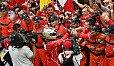 Sebastian Vettel holte den ersten Ferrari-Sieg in Monaco seit Michael Schumacher im Jahr 2001 - Foto: Sutton