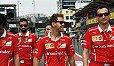Sebastian Vettel hat das durchwachsene Rennen von Montreal schon wieder abgehakt - Foto: Sutton