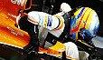 Fernando Alonso wird in Monza erneut einen Motorwechsel samt Strafversetzung hinnehmen müssen - Foto: LAT Images