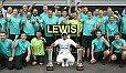 Lewis Hamilton drückte dem Wochenende in Spa seinen Stempel auf - Foto: LAT Images