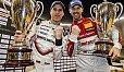 Rene Rast und Timo Bernhard haben den ROC Nations Cup 2018 gewonnen - Foto: Race of Champions