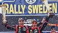 Thierry Neuville gewann zum ersten Mal die Rallye Schweden - Foto: LAT Images