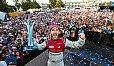Daniel Abt gewinnt als erster Deutscher ein Rennen in der Formel E! - Foto: Audi Sport