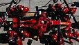 Die Boxenstopps in der Formel 1 sind ein gut choreografiertes Kunstwerk - Foto: Ferrari