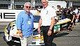 Keke Rosberg mit Team Rosberg-Teamchef Arno Zensen - Foto: ADAC GT Masters