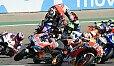 Der Stein des Antoßes: Kurve 1 im Aragon-GP - Foto: LAT Images