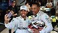 Lewis Hamilton und Will Smith machten vor dem Rennen richtig Action - Foto: Sutton