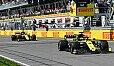 Das Renault-Teamduell zwischen Ricciardo und Hülkenberg wurde in Kanada eng - Foto: LAT Images