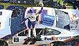 Pocono-Rekordsieger Denny Hamlin schlug wieder zu - Foto: LAT Images