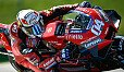 Andrea Dovizioso blamierte sich in Brünn - Foto: MotoGP