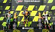 Brad Binder und Franco Morbidelli standen in Brünn zum ersten Mal auf dem MotoGP-Podium - Foto: MotoGP