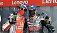 Morbidelli und Bagnaia sorgten für einen VR46-Doppelsieg - Foto: MotoGP.com
