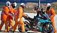 Fabio Quartararo ging an diesem Wochenende zwei Mal hart zu Boden - Foto: MotoGP.com