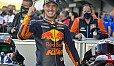 Pol Espargaro hatte in Valencia Grund zu feiern - Foto: MotoGP.com