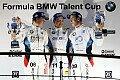 Formel BMW - Menzel feiert Sieg im zweiten Finalrennen : Entscheidung fällt am Sonntag