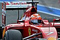 Formel 1 - Test-Highlights: Ferrari