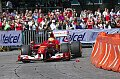Formel 1 - Ferrari-Showrun in Mexico-City