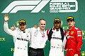 Formel 1 - Großbritannien GP - Podium