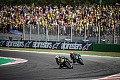 MotoGP-Events in Misano mit Zuschauern an der Strecke