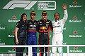 Formel 1 - Brasilien GP - Podium