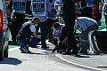 Formel 1 - Beton bricht ein: Kanaldeckel-Abbruch in Portugal