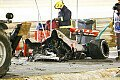 Formel 1 - Bahrain GP - Grosjean Horror-Crash