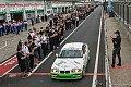 24 h Nürburgring - 24-Stunden-Rennen - Ehrenrunde für Sabine Schmitz auf der Nordschleife